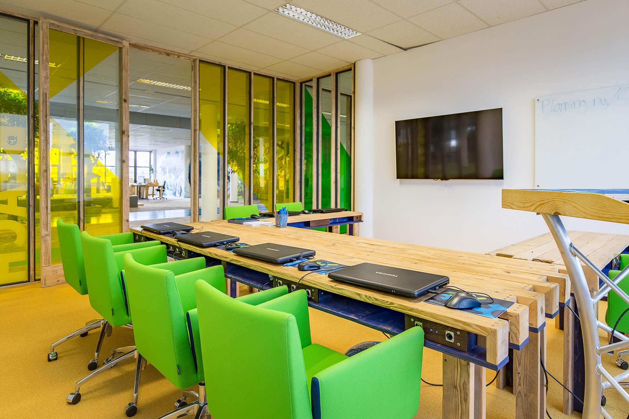 Foto kantoor Dyflexis conferentieruimte