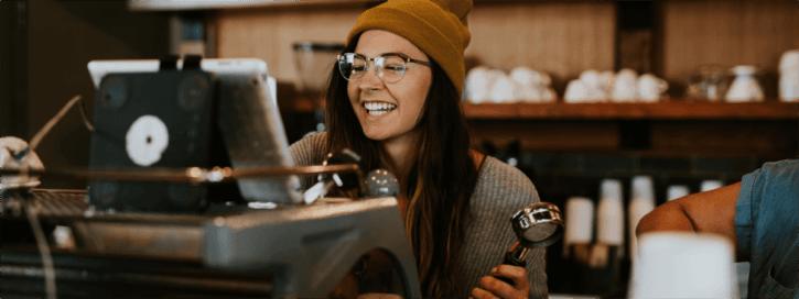 dyflexis koffiemachine website app