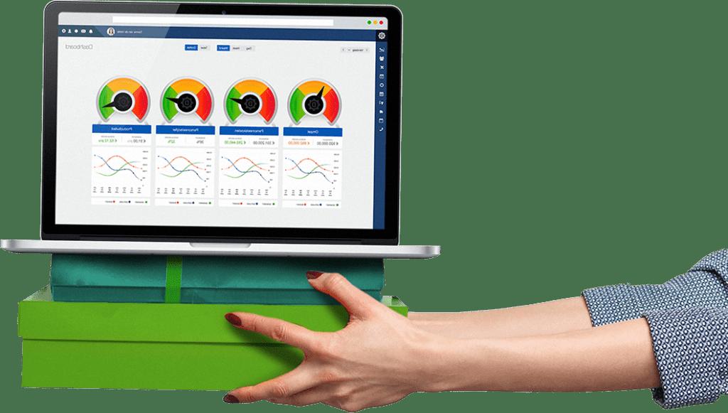 Kengetallen voor personeelskosten en loonkosten in een dashboard