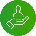 zorg en welzijn icoon personeelsplanning