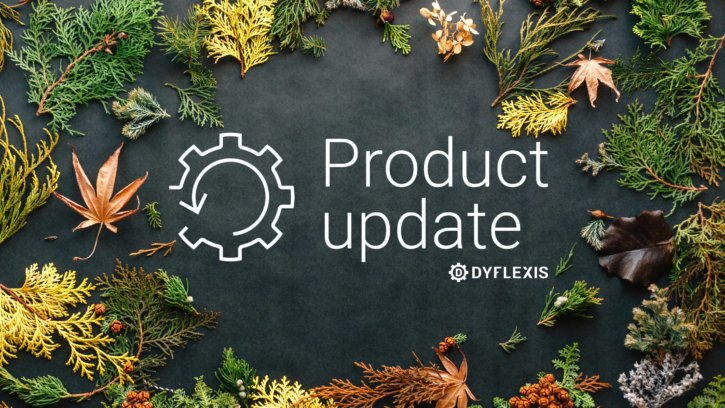 product update november dyflexis
