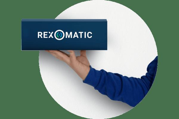 rex-o-matic NOA verpakking