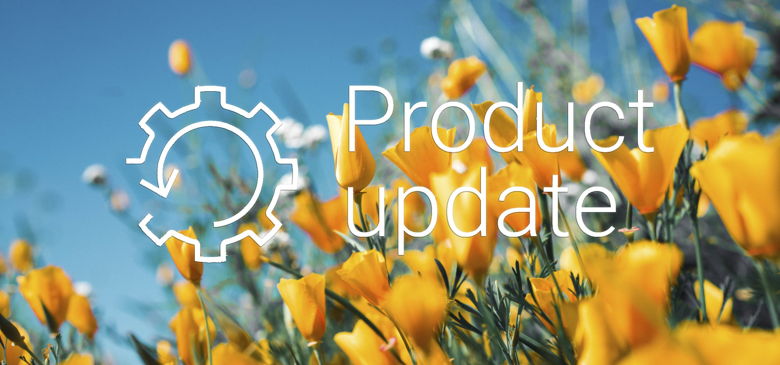 Product update april 2020