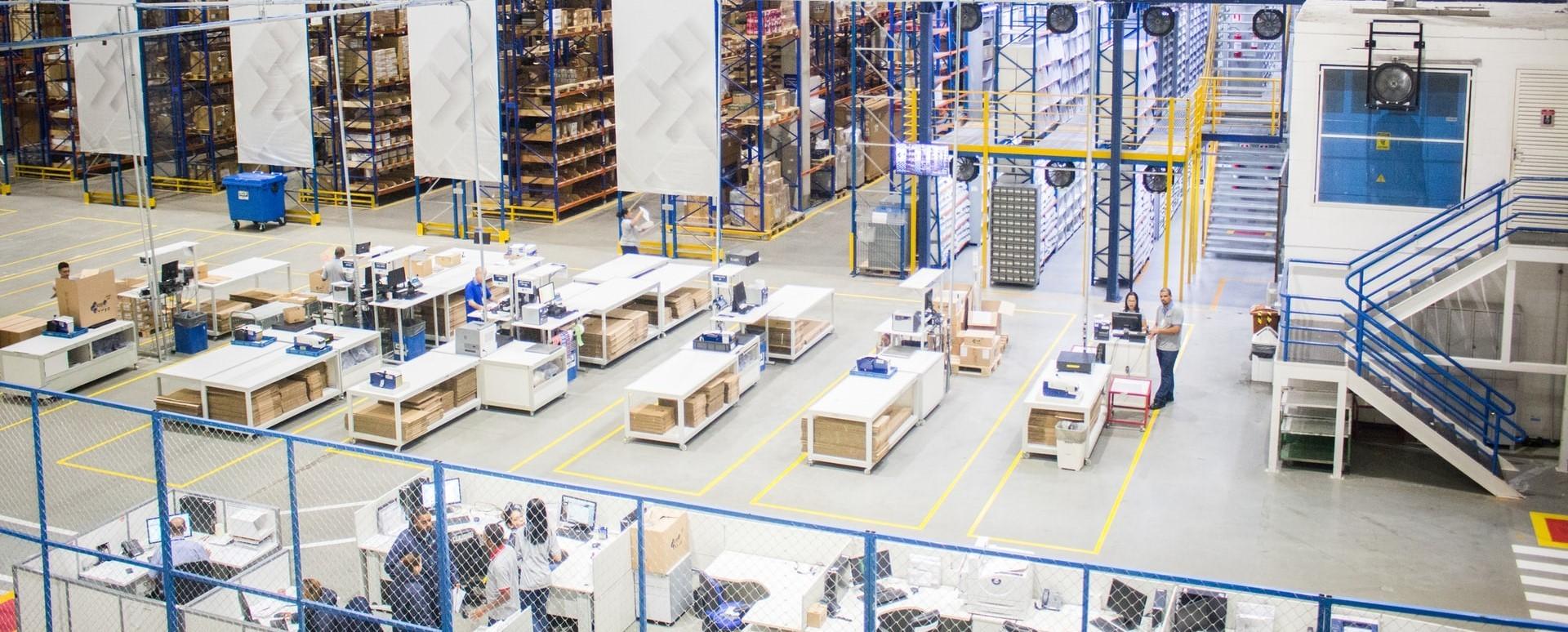 Planningsysteem voor productie en warehousing